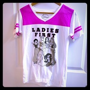 Disney Princess ladies first tee